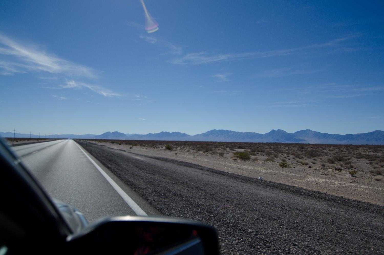 road Death Valley