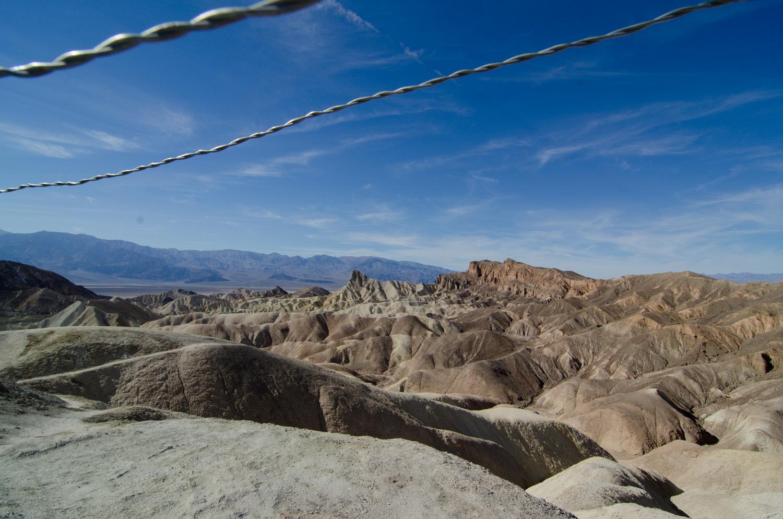 Rocks Zabriskie Point Death Valley