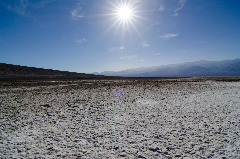 Salt flats Badwater Basin
