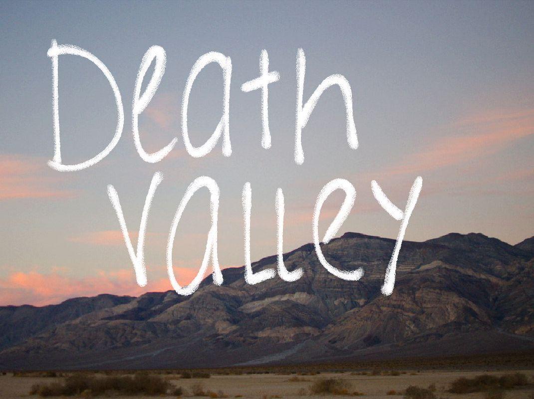 Mountain Death Valley