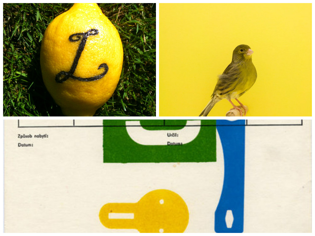 Colour theory // Yellow & Green