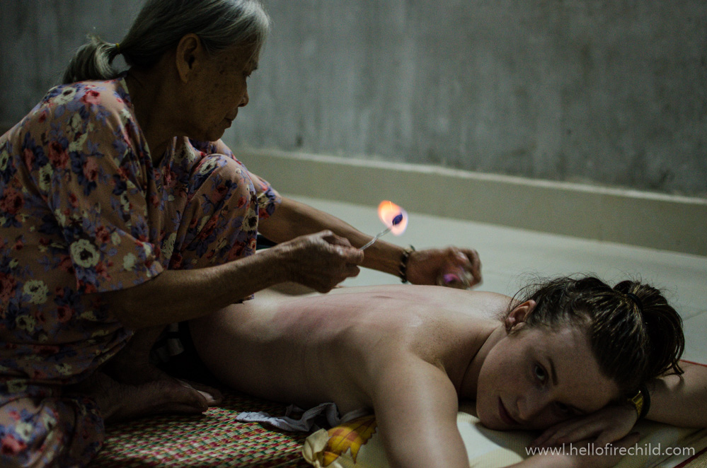 I didn't know what was happening until it was happening. Or, medicine lady of Ke Xuyen.