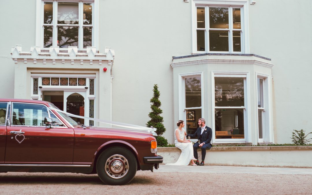 Kira & Ailbe's Relaxed Summer Wedding at Airfield Estate